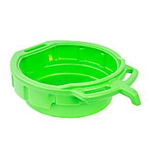 87034 4 Gallon Oil Drain Pan (Green)