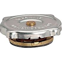 31307 Radiator Cap - Round, 4 psi, Chrome, Steel, Sold individually