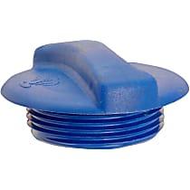 31328 Radiator Cap - Round, 20 psi, Blue, Plastic, Sold individually