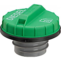 Gates 31615D Gas Cap - Green, Non-locking, Direct Fit, Sold individually