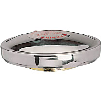 31623 Gas Cap - Chrome, Non-locking, Direct Fit, Sold individually