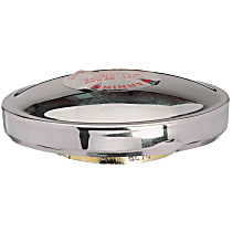 Gates 31623 Gas Cap - Chrome, Non-locking, Direct Fit, Sold individually