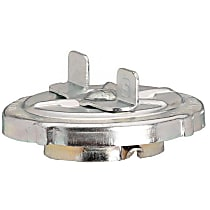 Gas Cap - Chrome, Non-locking, Direct Fit, Sold individually