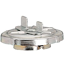 Gates 31720 Gas Cap - Chrome, Non-locking, Direct Fit, Sold individually