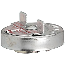31732 Gas Cap - Chrome, Non-locking, Direct Fit, Sold individually