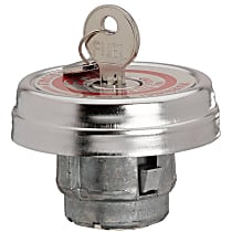 Gates 31770 Gas Cap - Chrome, Locking, Direct Fit, Sold individually