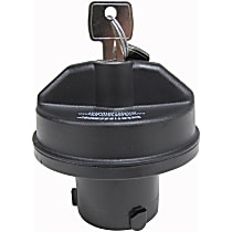 31828 Gas Cap - Black, Locking, Direct Fit, Sold individually