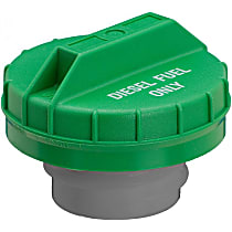 Gates 31835D Gas Cap - Green, Non-locking, Direct Fit, Sold individually