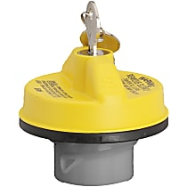 Gates 31836Y Gas Cap - Yellow, Locking, Direct Fit, Sold individually