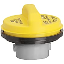 31838Y Gas Cap - Yellow, Non-locking, Direct Fit, Sold individually