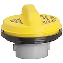 Gates 31838Y Gas Cap - Yellow, Non-locking, Direct Fit, Sold individually