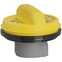 31843Y Gas Cap - Yellow, Non-locking, Direct Fit, Sold individually