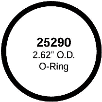 Gates 33671 Thermostat O-Ring - Direct Fit
