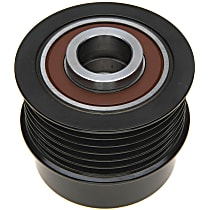 37004P Alternator Pulley - Direct Fit, Sold individually