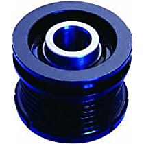 Gates 37011P Alternator Pulley - Blue, Serpentine, Direct Fit, Sold individually