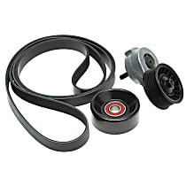 Gates 90K-38116 Serpentine Belt - Direct Fit, Kit