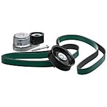 90K-38285 Serpentine Belt - Direct Fit, Kit