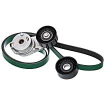 90K-38323B Serpentine Belt - Direct Fit, Kit