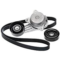 Serpentine Belt - Direct Fit, Kit