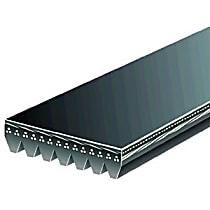 Gates K070810 Serpentine Belt - V-belt, Direct Fit, Sold individually