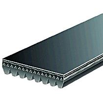 Gates K080570 Serpentine Belt - Serpentine belt, Direct Fit, Sold individually