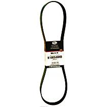 Gates K080645HD Serpentine Belt - V-belt, Direct Fit, Sold individually