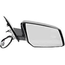Mirror - Passenger Side, Power, Heated, Folding, Paintable, With Turn Signal