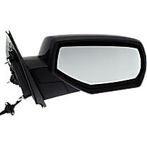 Mirror - Passenger Side, Power, Heated, Folding, Paintable, Textured Cap