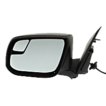 Mirror - Driver Side, Power, Paintable, With Blind Spot Glass, For Models With Second Design Mirror