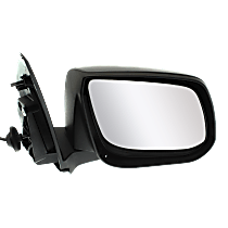 Mirror - Passenger Side, Power, Paintable, For Models With Second Design Mirror