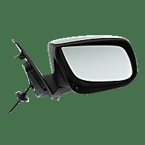 Mirror Heated - Passenger Side, Power Glass, Chrome