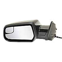 Mirror - Driver Side, Power, Heated, Paintable, With Blind Spot Glass