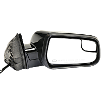 Mirror - Passenger Side, Power, Heated, Paintable, With Blind Spot Glass