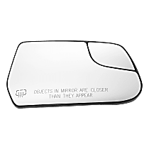 Passenger Side Heated Mirror Glass
