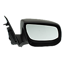 Mirror Non-Heated - Passenger Side, Manual Glass, Textured Black