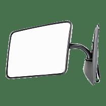 Mirror - Driver Side, Folding, Paintable, Below Eyeline Type