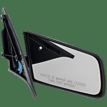Mirror - Passenger Side, Folding, Textured Black, Standard Type