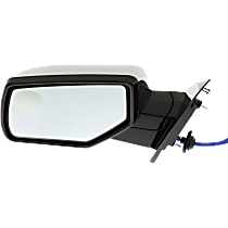 Mirror - Driver Side, Power, Heated, Folding, Chrome