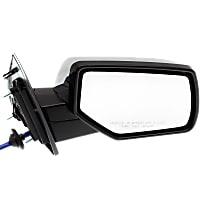 Mirror - Passenger Side, Power, Heated, Folding, Chrome