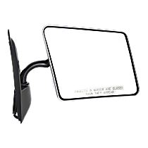 Mirror Manual Folding - Passenger Side, Chrome