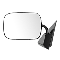 Mirror - Driver Side, Chrome, Type1 (Gooseneck Style)