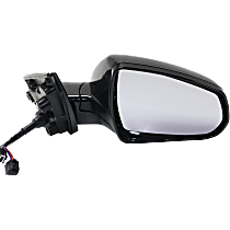 Mirror - Passenger Side, Power, Heated, Power Folding, Paintable, With Memory