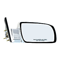 Mirror - Passenger Side, Chrome, Type2 (Standard Style)