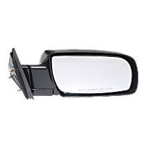 Mirror - Passenger Side, Paintable, Type 1 (Standard Style) Black With Black Base