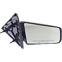 Mirror - Passenger Side, Folding, Textured Black, 94 Style