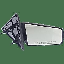 Mirror Manual Folding Non-Heated - Passenger Side, Manual Glass, Textured Black