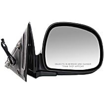 Mirror Manual Folding Non-Heated - Passenger Side, Power Glass, Paintable
