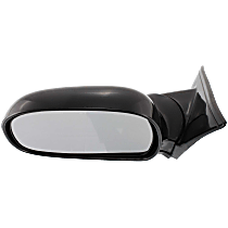 Mirror - Driver Side, Folding, Paintable, Below Eyeline Type
