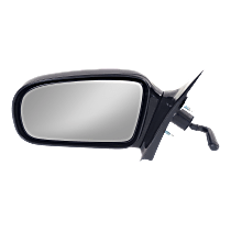 Mirror Non-folding - Driver Side, Manual Remote Glass, Paintable