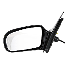 Mirror Non-folding - Driver Side, Power Glass, Paintable
